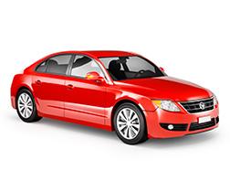 Nice Red Sedan